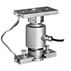 Compression loadcell rocker support
